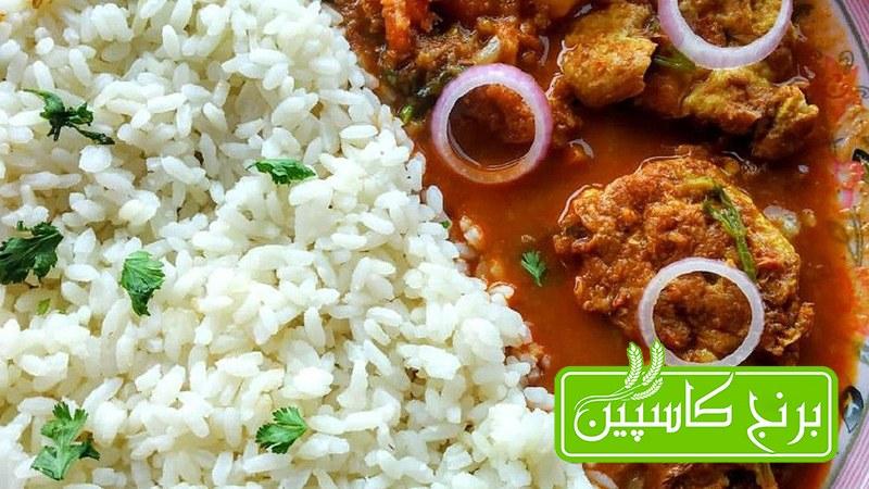 طرز پخت برنج ایرانی