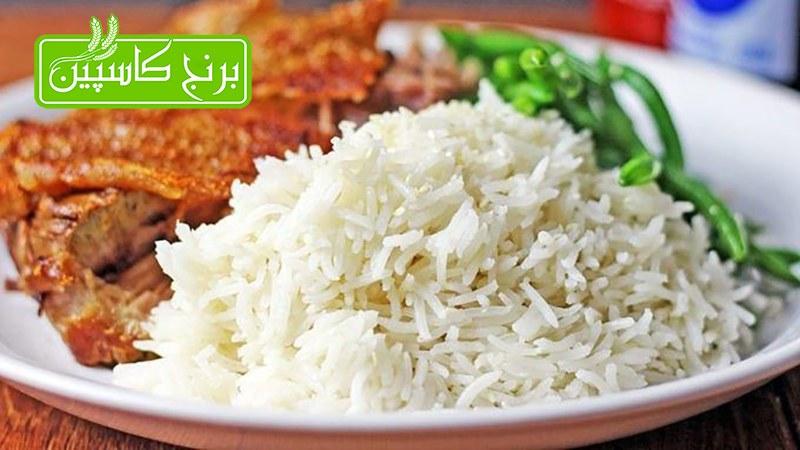 طرز تهیه برنج رستورانی بدون ته دیگ