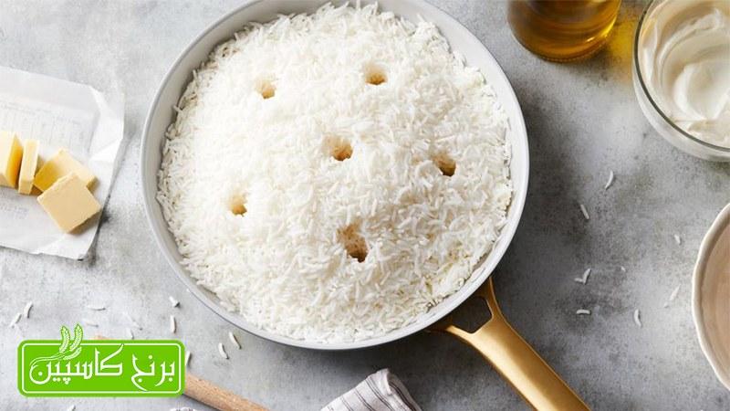 طرز پخت و استفاده از برنج تازه